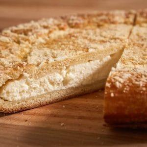 Пирог с творогом сдобный